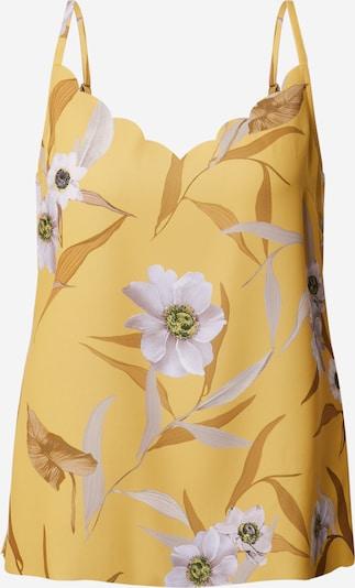 Ted Baker Haut 'Cydd' en jaune / rose, Vue avec produit