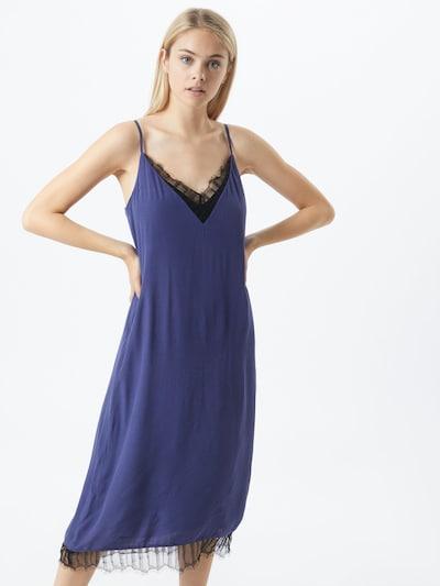 VILA Kleid 'Colina' in rauchblau / schwarz, Modelansicht