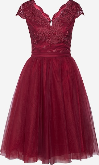 Chi Chi London Kleid 'CHI CHI JOEY DRESS' in burgunder, Produktansicht