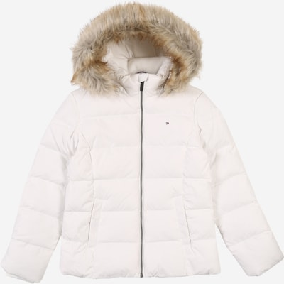 TOMMY HILFIGER Jacke 'ESSENTIAL BASIC DOWN JACKET' in weiß, Produktansicht