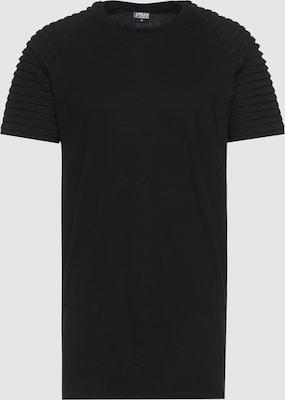Urban Classics Shirt in Zwart