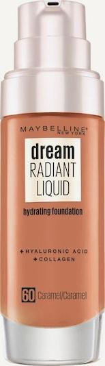 MAYBELLINE New York Foundation 'Dream Radiant Liquid' in beige, Produktansicht