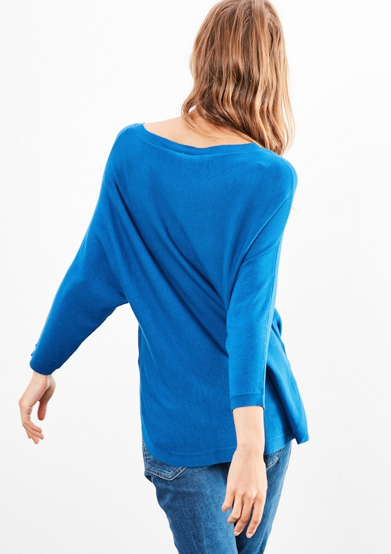 Q/s Designed By Softer Fledermaus-pullover