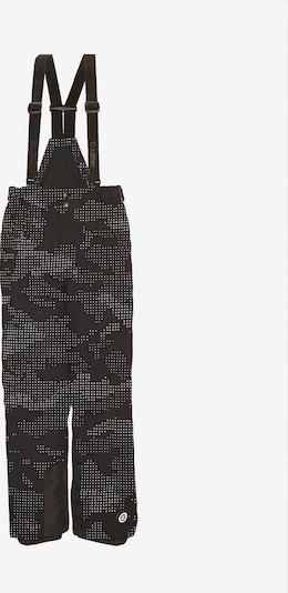 KILLTEC Skihose 'Reflon' in schwarz / weiß, Produktansicht