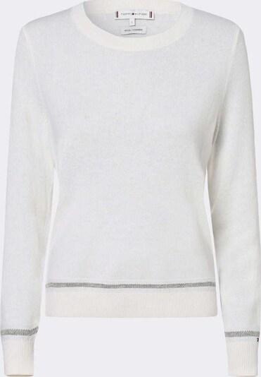 TOMMY HILFIGER Trui in de kleur Grijs / Wit, Productweergave