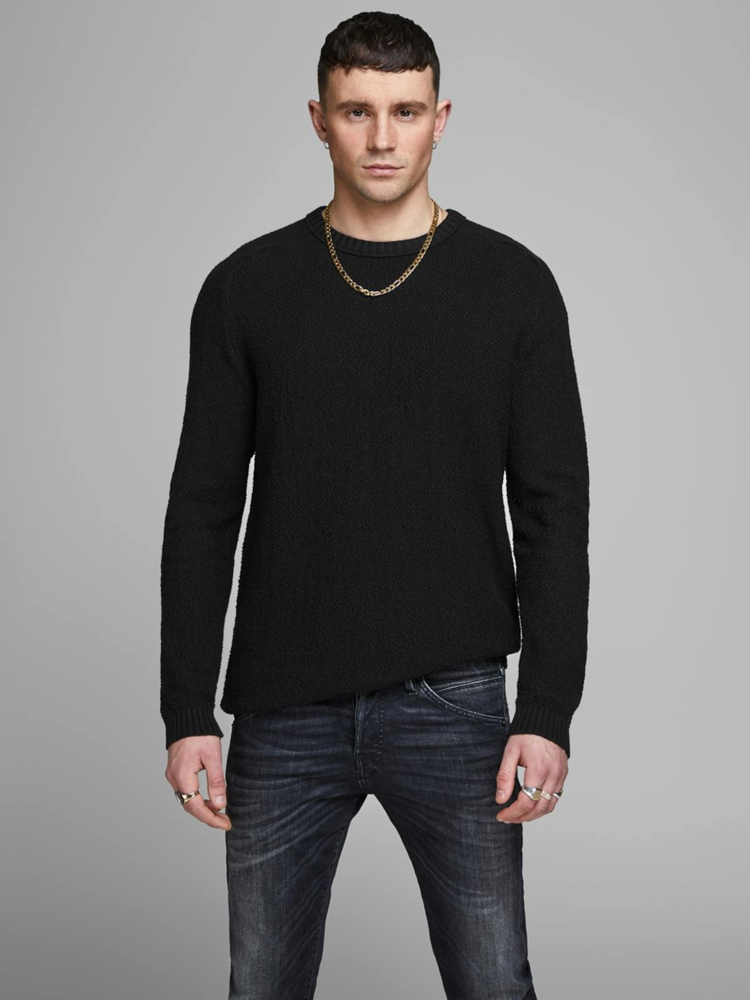 Schwarz Jackamp; Jones Pullover Jones In Pullover Jackamp; c1JTlFK