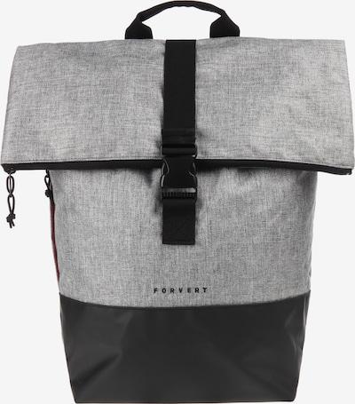 Forvert Rucksack 'Lorenz' in graumeliert / schwarz, Produktansicht