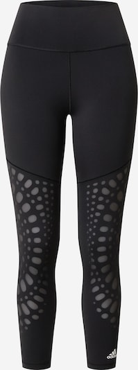 ADIDAS PERFORMANCE Tights 'Believe This Power' in grau / schwarz, Produktansicht