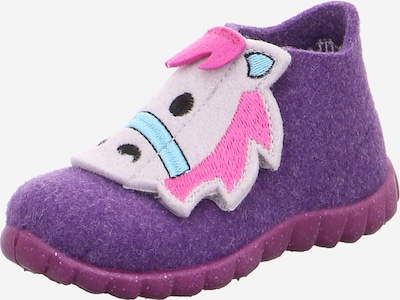SUPERFIT Schuhe 'HAPPY' in lila / pink / weiß, Produktansicht
