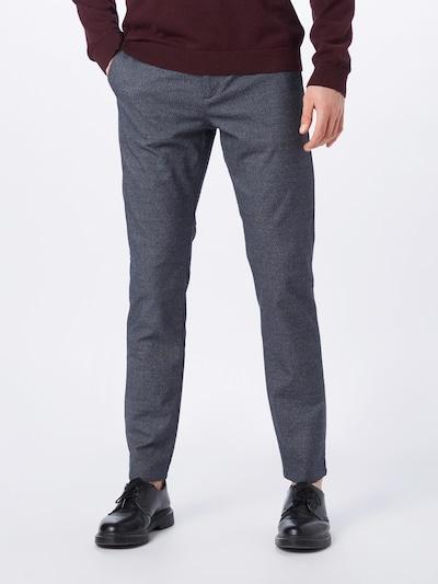 SELECTED HOMME Hose 'SLHSLIM-ARVAL' in graumeliert, Modelansicht