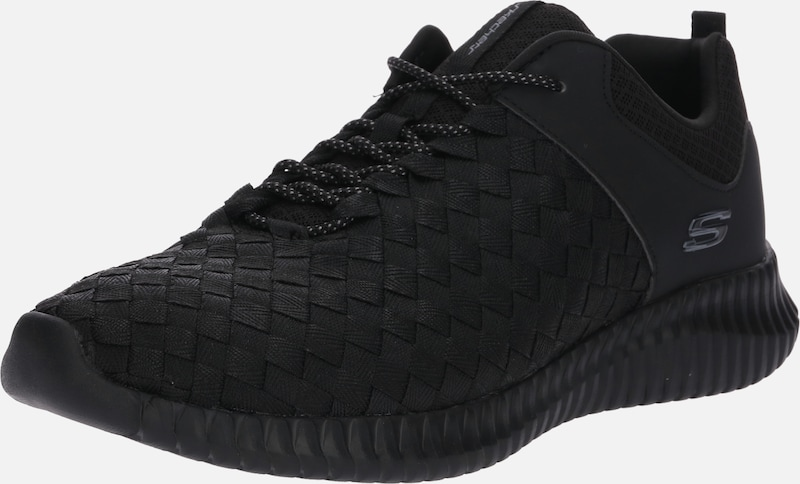 Basses 'elite En Skechers Belser' Noir Baskets Flex 7yfgvY6b