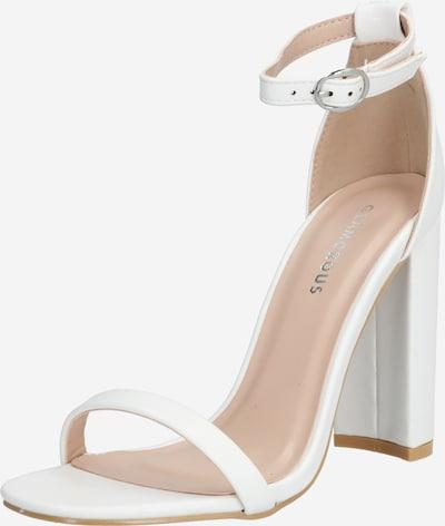 GLAMOROUS Sandale in weiß, Produktansicht