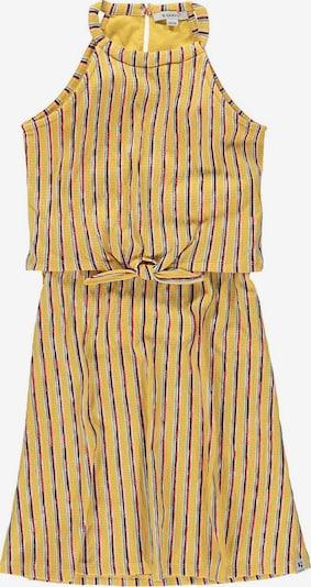 GARCIA Kleid in limone / oliv / hellrot / weiß, Produktansicht