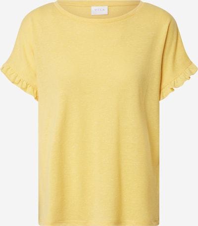 VILA Koszulka 'VIBARIA' w kolorze żółtym: Widok z przodu