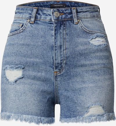 Trendyol Shorts in blue denim, Produktansicht
