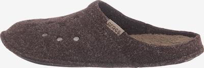 Crocs Pantoufle en marron, Vue avec produit