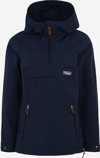 Bergans Outdoorjas 'Nordmarka' in de kleur Navy, Productweergave