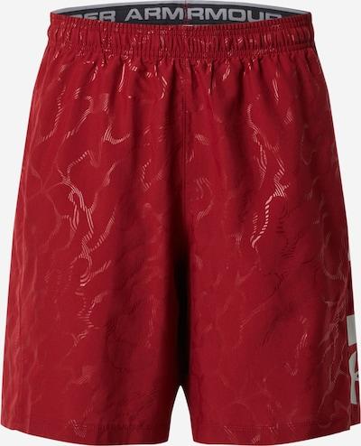 UNDER ARMOUR Pantalon de sport en rouge / lie de vin, Vue avec produit