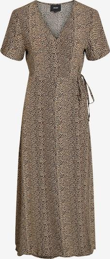 OBJECT Kleid in braun / cappuccino / schwarz, Produktansicht