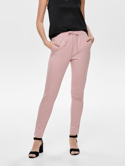 ONLY Hlače z naborki 'ONLPoptrash' | roza barva, Prikaz modela