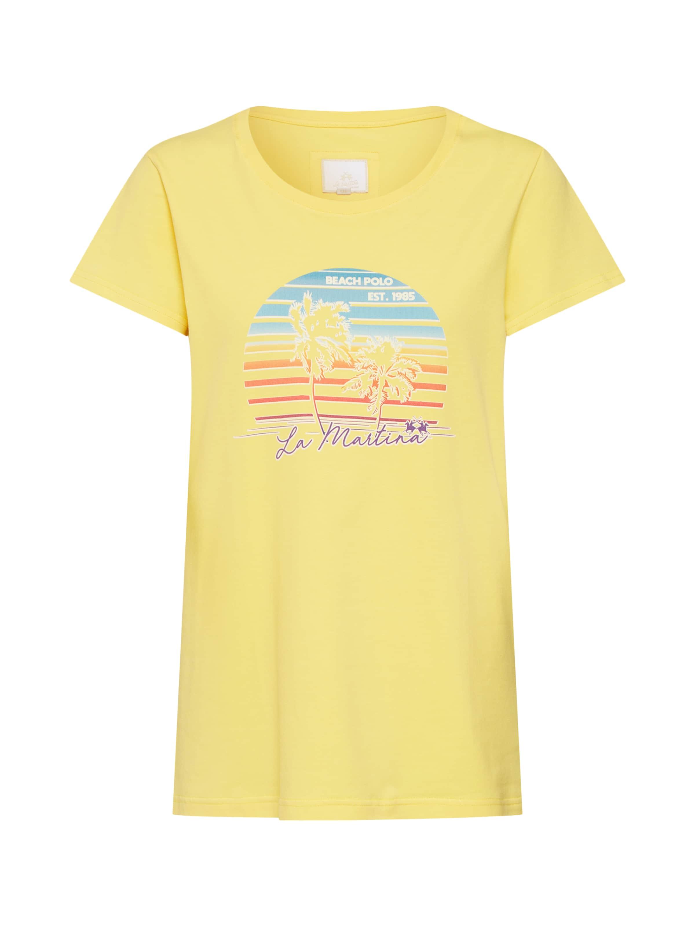 In shirt sl S Cot' T Shirts La Stretch Gelb 'woman Martina CQdxrtsh