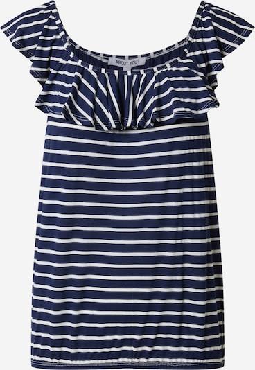 ABOUT YOU Tričko - námornícka modrá / biela, Produkt