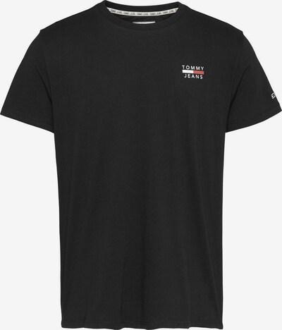 Tricou Tommy Jeans pe negru, Vizualizare produs