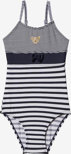 STEIFF Badeanzug in kobaltblau / weiß, Produktansicht