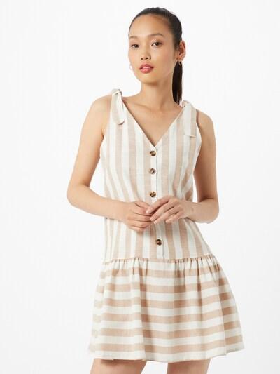Hailys Letní šaty 'Alani' - tělová / bílá, Model/ka