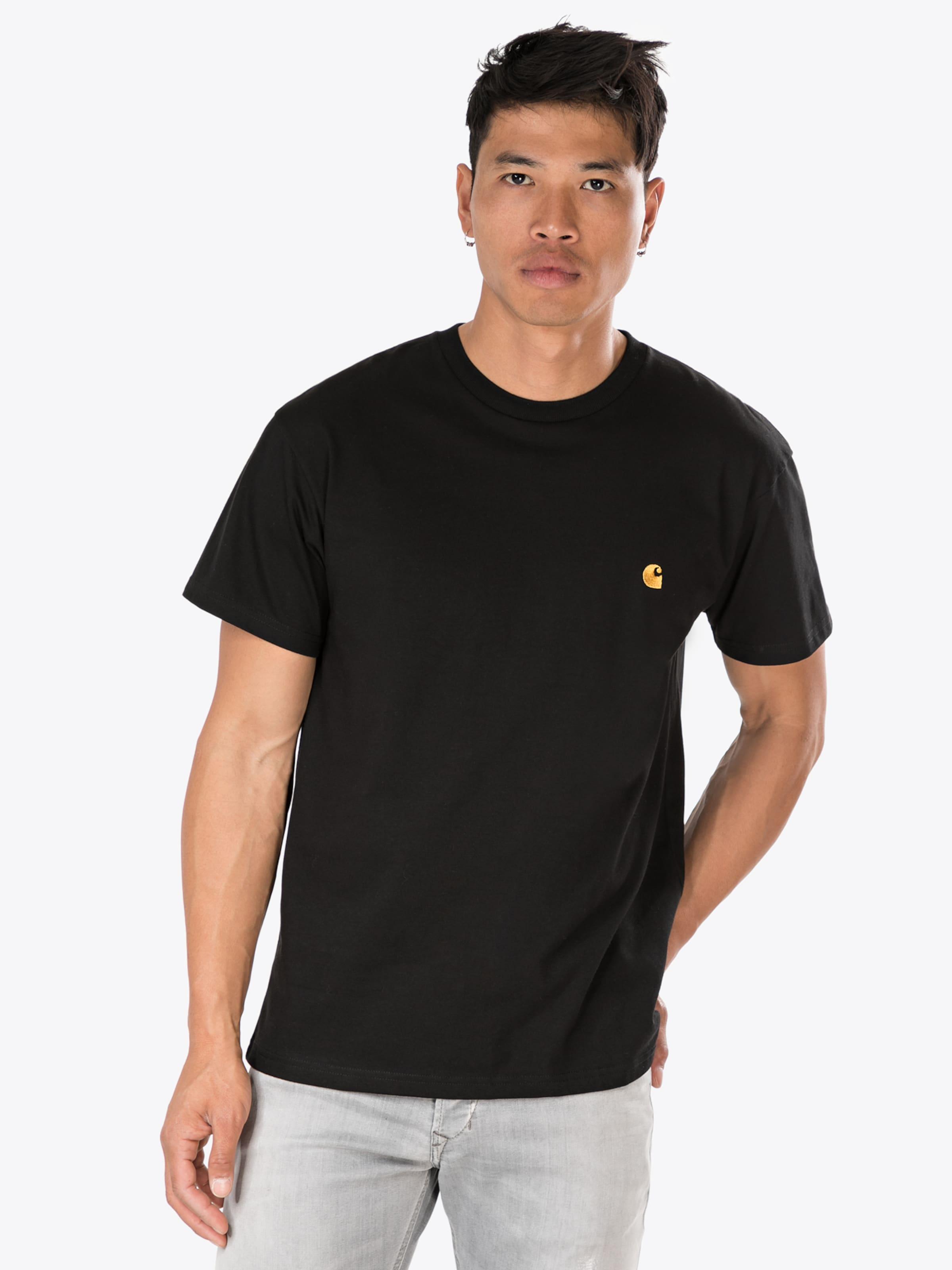 Noir shirt 'chase' En T Wip Carhartt 0kOPn8w
