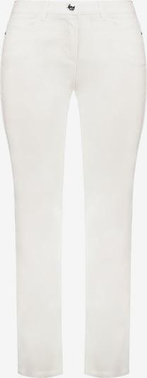 SAMOON Hose Freizeit lang Stretch-Hose Jenny mit komfortablem Bein in weiß, Produktansicht
