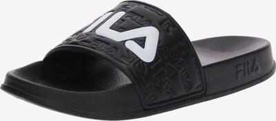 FILA Mule 'Boardwalk' en noir / blanc, Vue avec produit