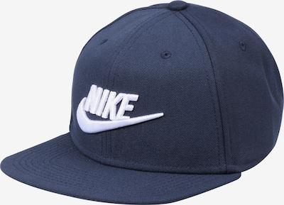 Nike Sportswear Casquette 'Pro' en bleu nuit / blanc, Vue avec produit