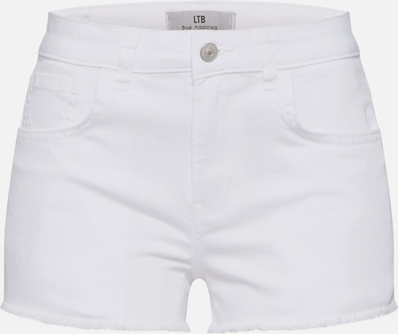 LTB Shorts 'Pamela' in white denim, Produktansicht