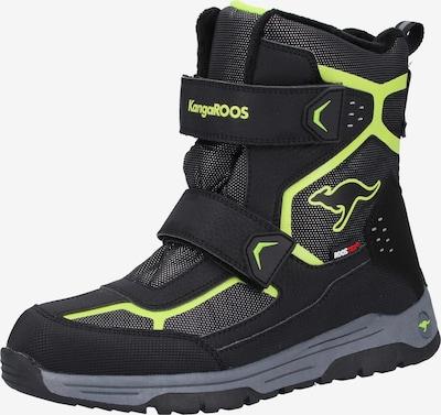 KangaROOS Boots in de kleur Kiwi / Zwart, Productweergave