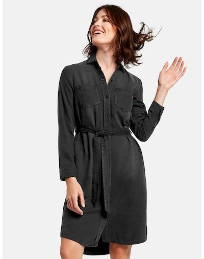 TAIFUN Kleid in black denim, Modelansicht