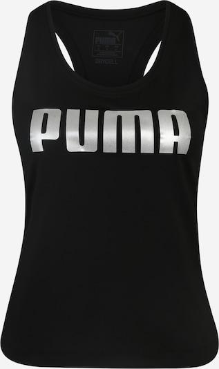 PUMA Top sportowy 'RTG Fitted Tank' w kolorze czarny / białym, Podgląd produktu