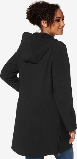 POLARINO Softshellmantel in schwarz, Produktansicht