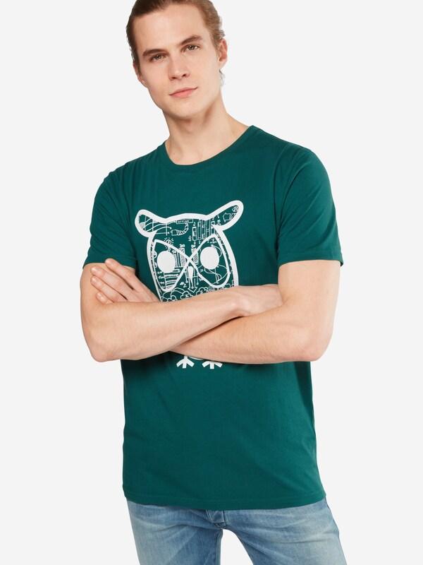 Knowledgecotton Vêtements T-shirt diagramme Hibou Impression - Gots