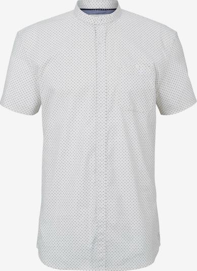 TOM TAILOR DENIM Kurzarmhemd in beige / creme, Produktansicht