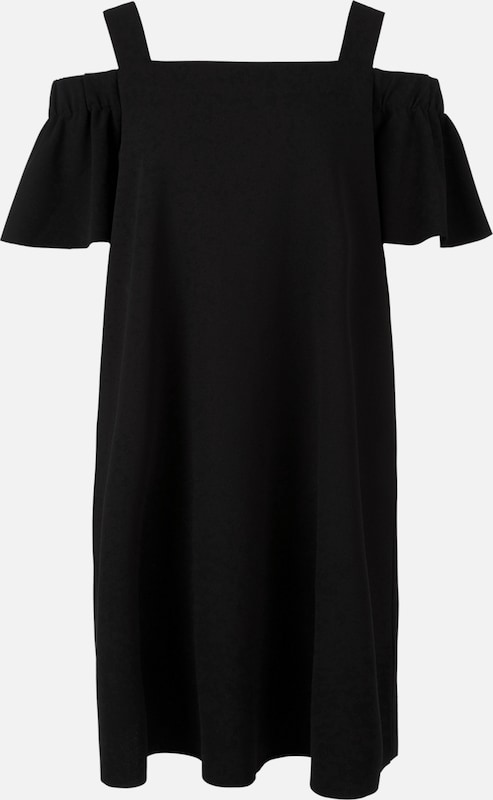 TRIANGLE Kleid in schwarz  Freizeit, schlank, schlank