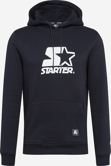 Starter Black Label Sportisks džemperis melns / balts, Preces skats