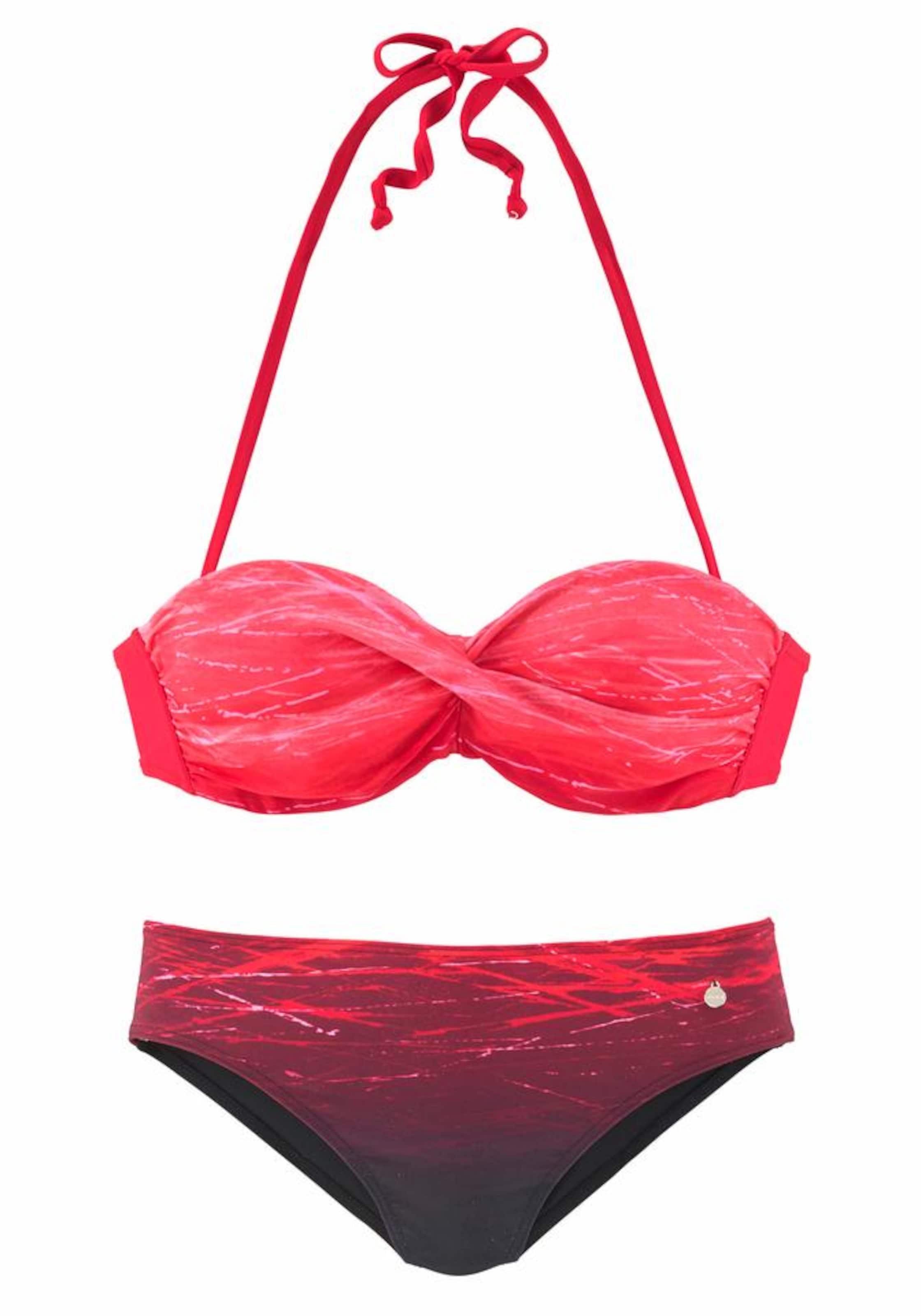 LASCANA Bügel-Bandeau-Bikini Billig Billig RkpQ5