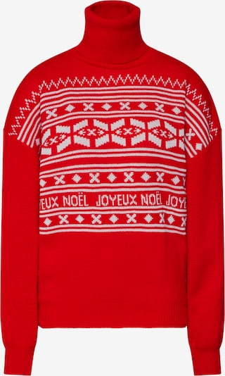 Missguided Trui 'Christmas Fairisle' in de kleur Rood / Wit, Productweergave