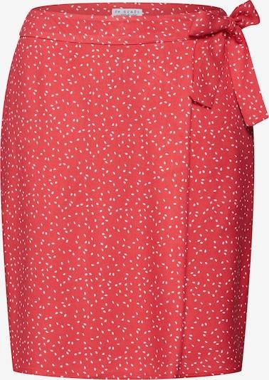 re.draft Sukně - světle červená / bílá, Produkt