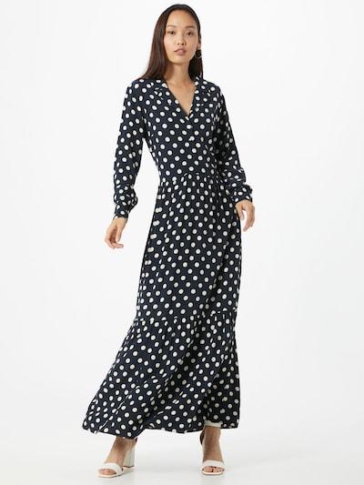 Y.A.S (Tall) Šaty 'Nicole' - tmavě modrá / bílá: Pohled zepředu