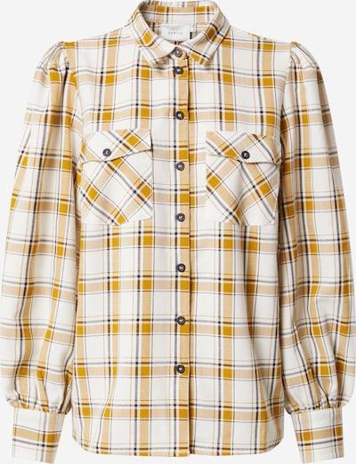 Gestuz Bluse 'Chloe' in gelb / schwarz / weiß, Produktansicht