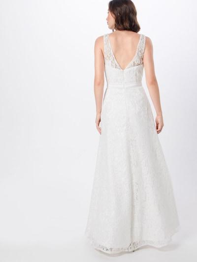 MAGIC BRIDE Robe de soirée en blanc: Vue de dos