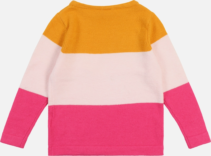 NAME IT Pullover 'VULIA' in orange / pink: Rückansicht