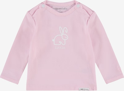 Noppies Shirt 'Roos' in rosa / weiß: Frontalansicht